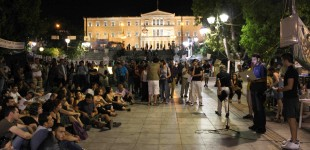 """""""Democratic indignance in action"""" – Neos Kosmos"""