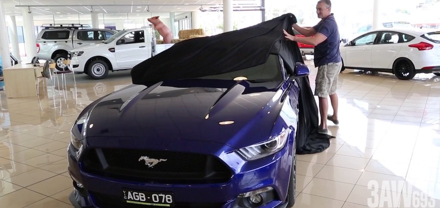 The Mustang has landed!